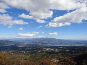 上ノ山公園ときめきデッキより2014.11.3