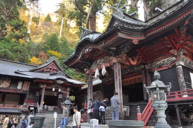 紅葉の榛名神社へ★