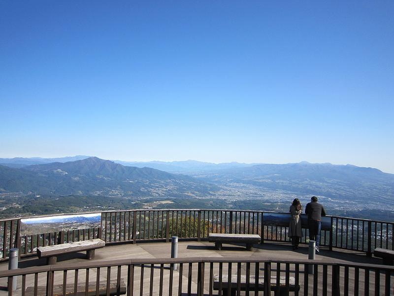 11月2日『上ノ山公園の紅葉』と『ときめきデッキからの眺望』